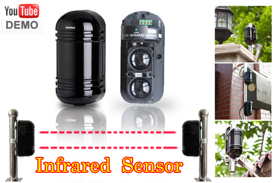 Indoor/Outdoor Dual Beam Photoelectric Detector