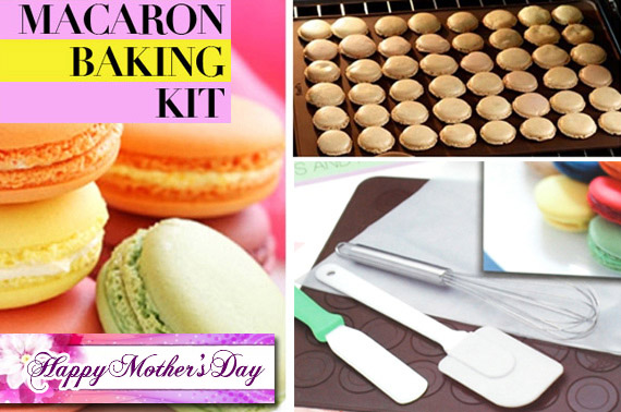 7 Piece French Macaron Baking Kit