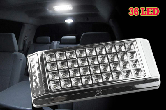 36-LED Car Interior Roof Light - White
