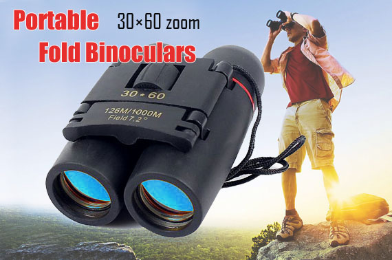 High Quality 30x60 Foldable Binocular with Day&Night Vision