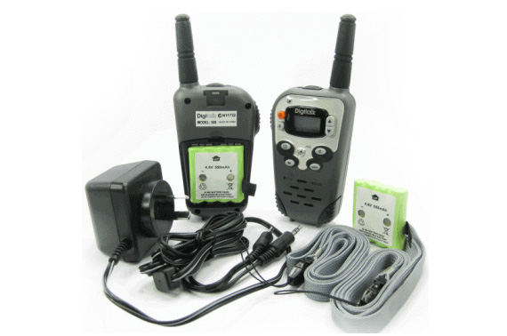 Pair 40CH Walkie Talkie Communicator Transceiver UHF CB 5km