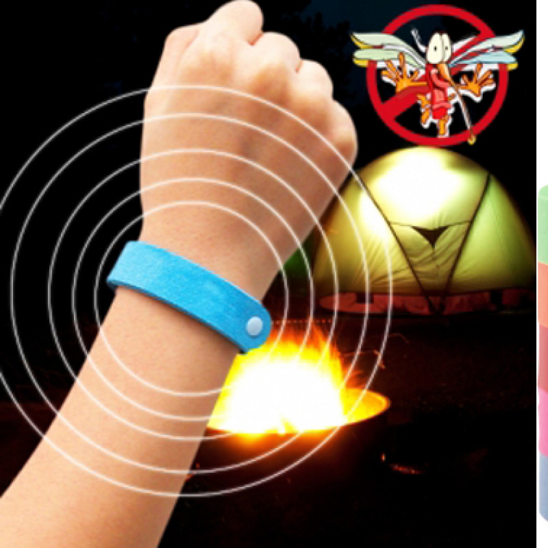 5x Mosquito Repellent Wrist Band