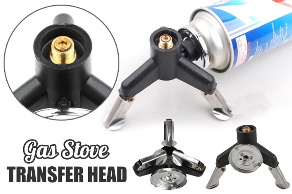 Three-Leg Gas Stove Transfer Head Adaptor