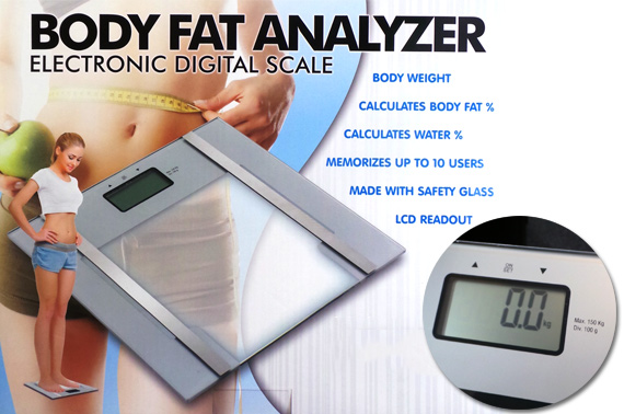 Digital Body Fat Analyzer Scale