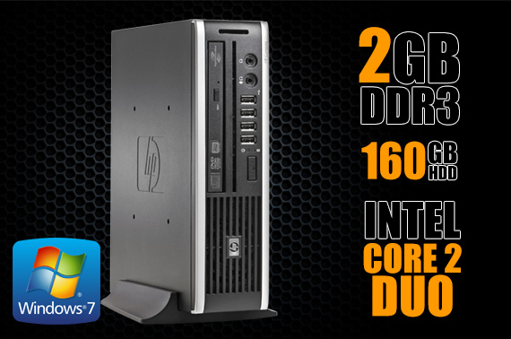 Refurbished HP Compaq Elite 8000 Ultra Slim Desktop