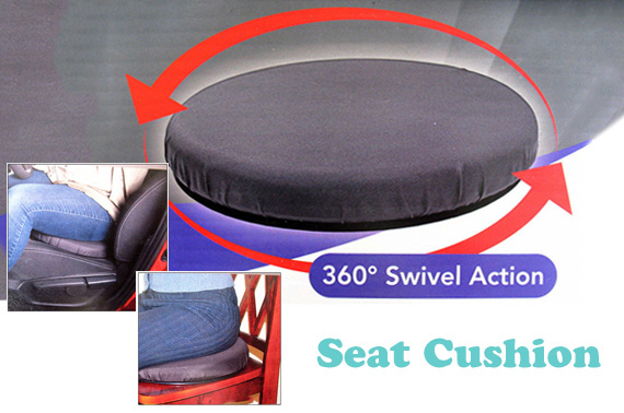 360 Degree Swivel Seat Cushion