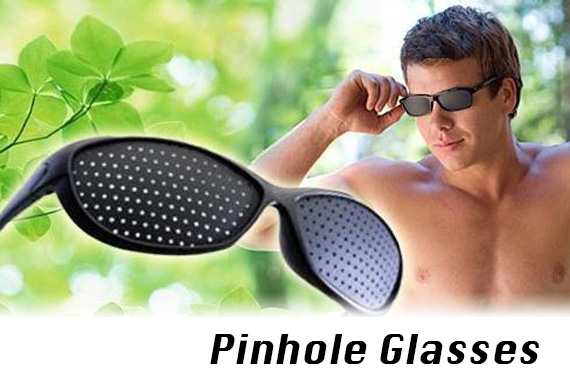 Pinhole Glasses - Improve your Vision!