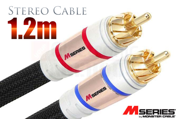Monster M1000I High Performance Stereo Audio Cable