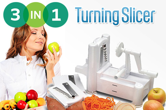 3-in-1 Kitchen Turning Slicer