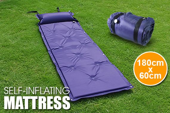 Self-Inflating Mattress Camping Airbed with Pillow