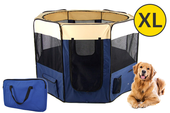 X-Large Portable Dog/Pet Soft Playpen