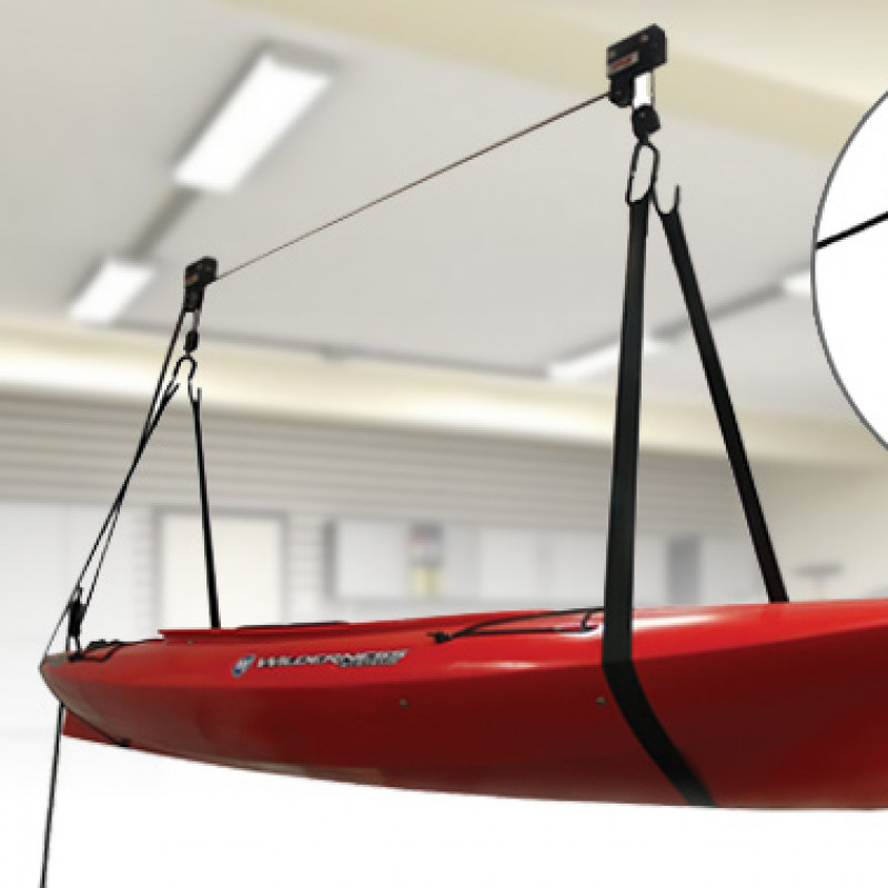 Ceiling Mount Kayak Storage Lift Hoist