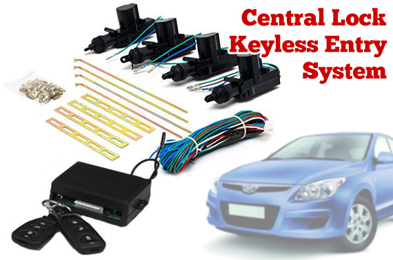 Car Remote Central Lock Keyless Entry System