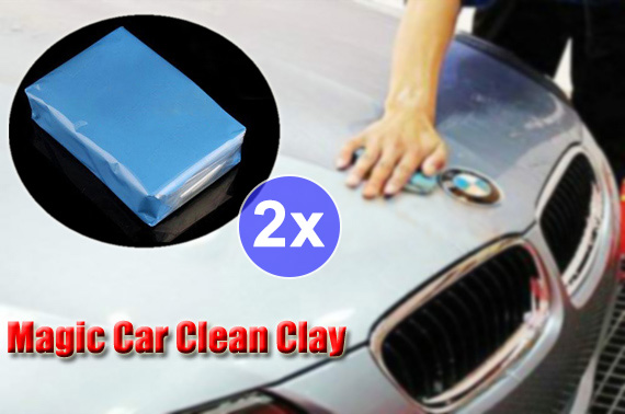 2x Magic Car Cleaning Clay Bar