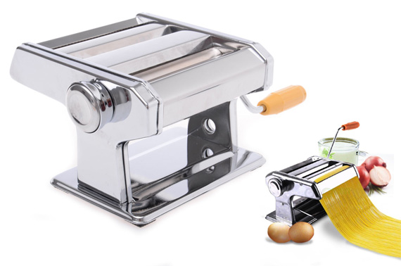 Deluxe Noodle Pasta Maker with Thickness Settings