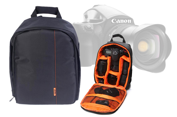 Waterproof DSLR Camera Soft Backpack