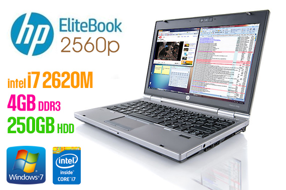 Ex-lease HP EliteBook 2560p 12