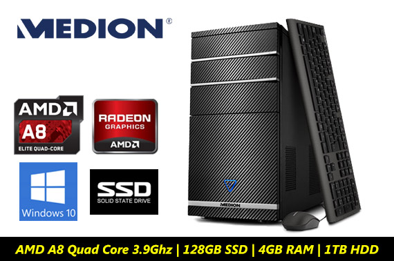 Ex-lease Medion P4120 Multimedia Desktop PC