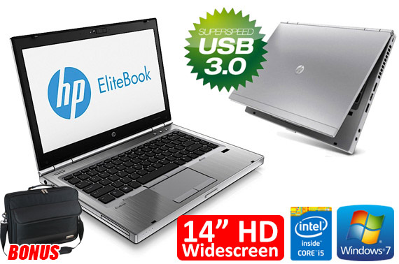 Ex-lease HP EliteBook 8470p 14