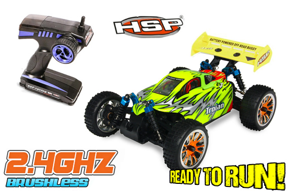 HSP 94185 Pro 1/16 Brushless 4WD OFFROAD RC Buggy