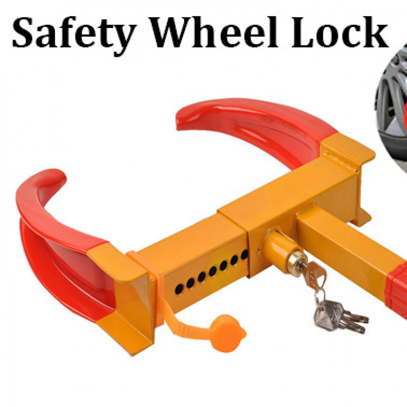 Anti Theft Tyre Lock Claw w/ Keys
