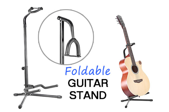Foldable Guitar Tripod Stand Holder