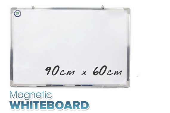 Magnetic Portable Whiteboard 90cm x 60cm