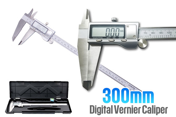 300mm Stainless Steel Digital Vernier Caliper