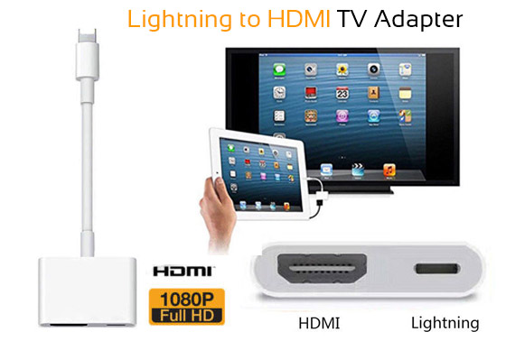 8Pin Lightning to HDMI Digital TV Adapter