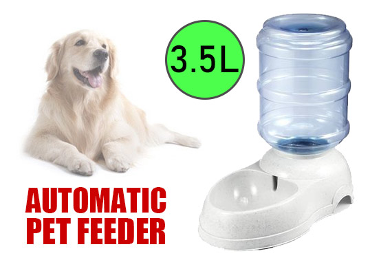 3.5L Automatic Pet Dog Water Feeder
