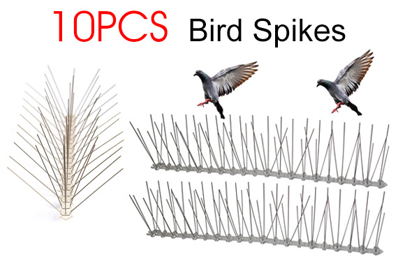 10x 50cm Bird Spikes Repeller