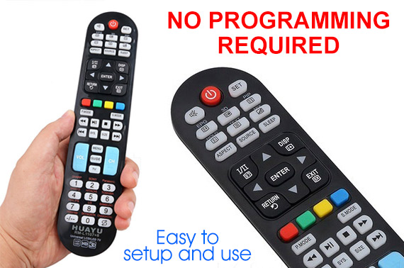 Universal LCD HD TV Remote Control