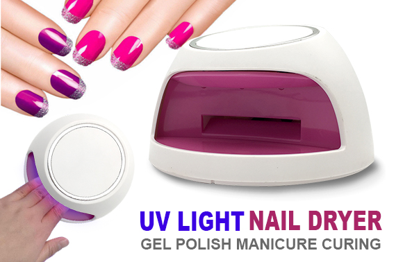 ELECTRIC UV LIGHT NAIL GEL POLISH DRYER