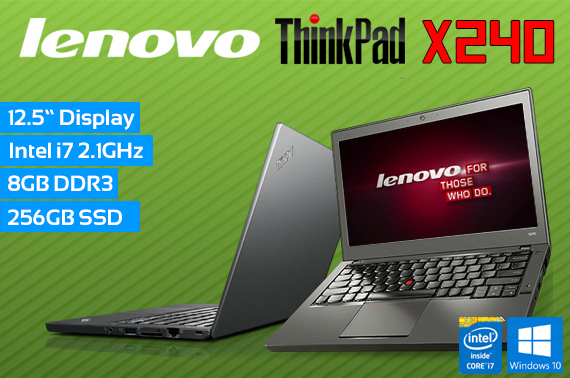 Ex-Lease Lenovo ThinkPad X240 12.5