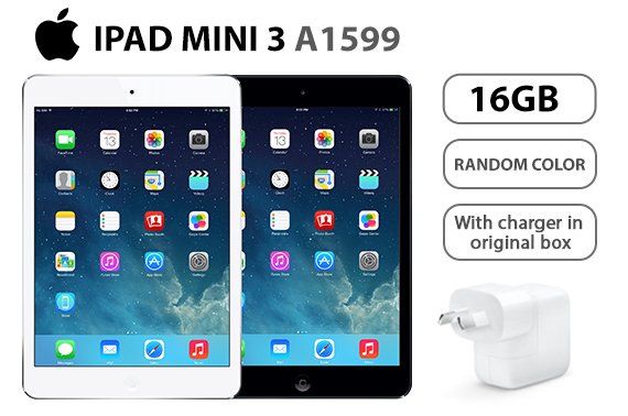 Refurbished Apple iPad Mini 3 Retina A1599 16GB WIFI