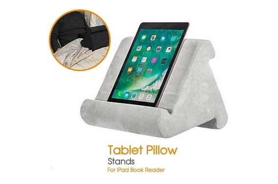 Tablet Pillow Stands For iPad Book Reader Holder Cushion