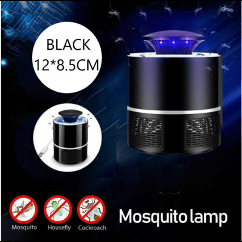 USB Mosquito Insect Trap Killer Electric LED Light Zapper
