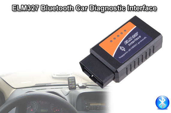 ELM327 OBDII V1.5 Car Bluetooth Diagnostic Interface