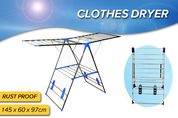 Stainless Steel Folding Clothes Drying Rack