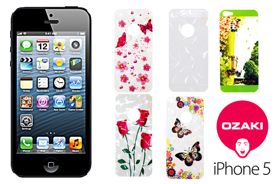 FREE Ozstock Day: 2x Set of iPhone 5/5S Screen Protectors with Design Pattern (For Her)