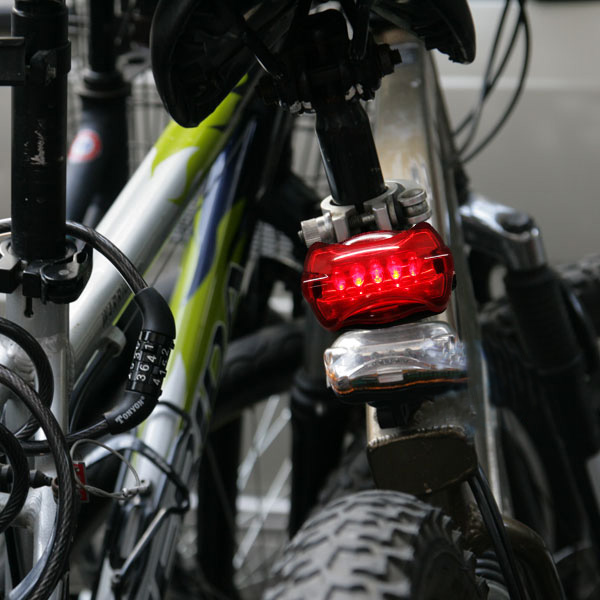 Bicycle LED  Tail Warning Light