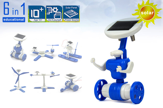 6 IN 1 Solar DIY Educational Kit