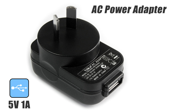 USB AC Power Adapter 5V 1A