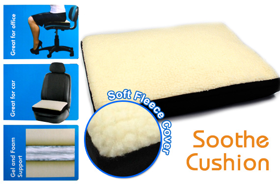 Comfortable Liquid Gel Memory Foam Cushion