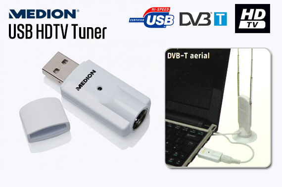 Refurbished USB HDTV Tuner for DVB-T