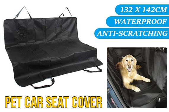 New Waterproof Dog Car Rear Back Seat Cover
