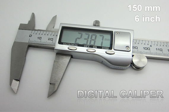 Stainless Steel Digital Caliper - 150 mm / 6 inch