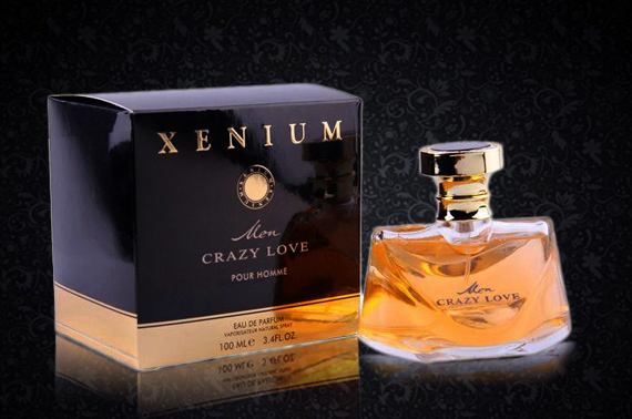 XENIUM Crazy Love Mens Perfume Spray Fragrance for Him