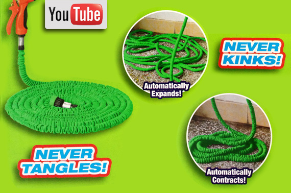 Incredible Expanding & Contracting Water Hose