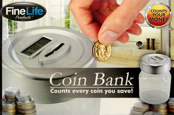 LED Display Digital Coin Counting Bank - Watch Your Money Grow, Physically and Digitally